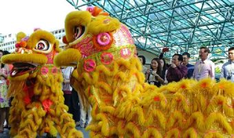 Drakendans Chinees nieuwjaar