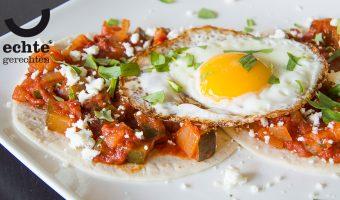 Zin in een Mexicaans ontbijt? Met dit recept maak je Huevos Rancheros