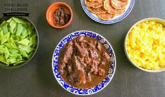 Indisch of Indonesisch koken: Daging smoor met nasi koening