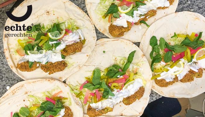 Falafel lunch uit de Javastraat