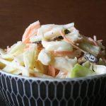 Recept voor frisse Amerikaans Nederlandse coleslaw