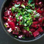 Marokkaans recept voor snelle smakelijke bietensalade