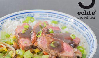 Kantonese eendenborst, Chinees.