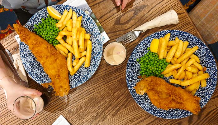 Fish n Chips pub Wetherspoon