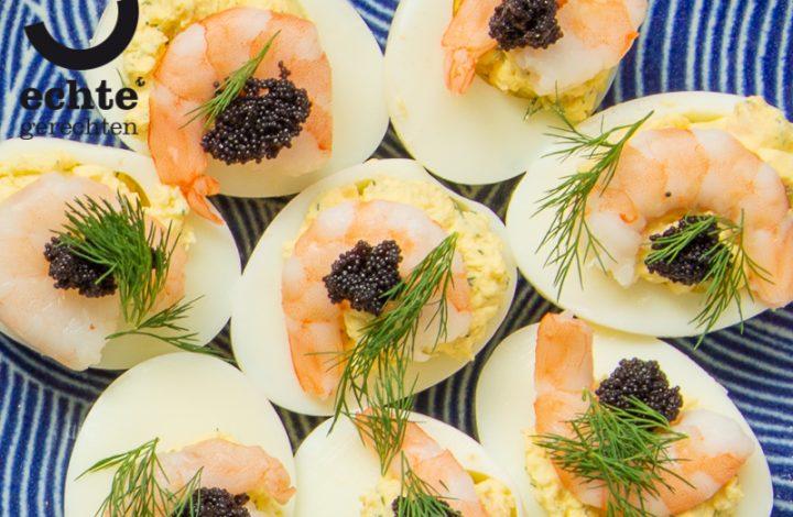 Zweedse-GevuldeEieren-Pasen-garnaal-recept