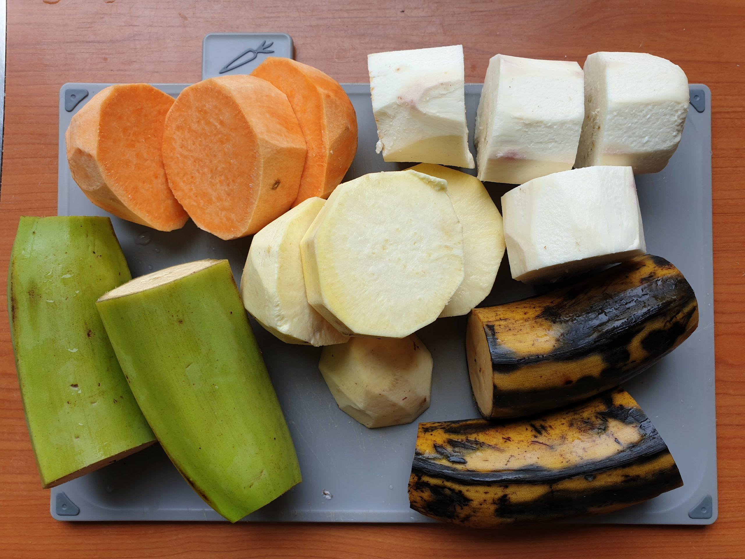 cassave-zoete-aardappel-bakbanaan-heriheri-recept-surinaams